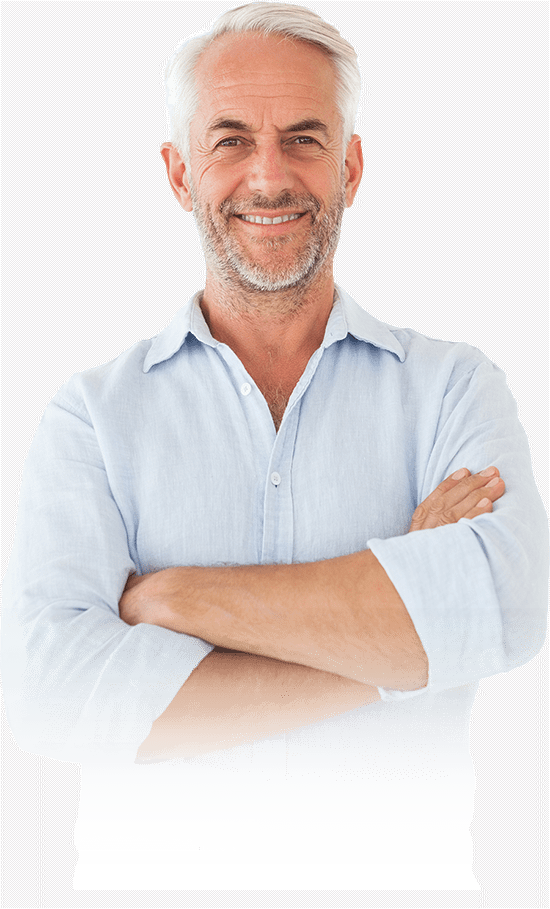 dental implant patient smiling