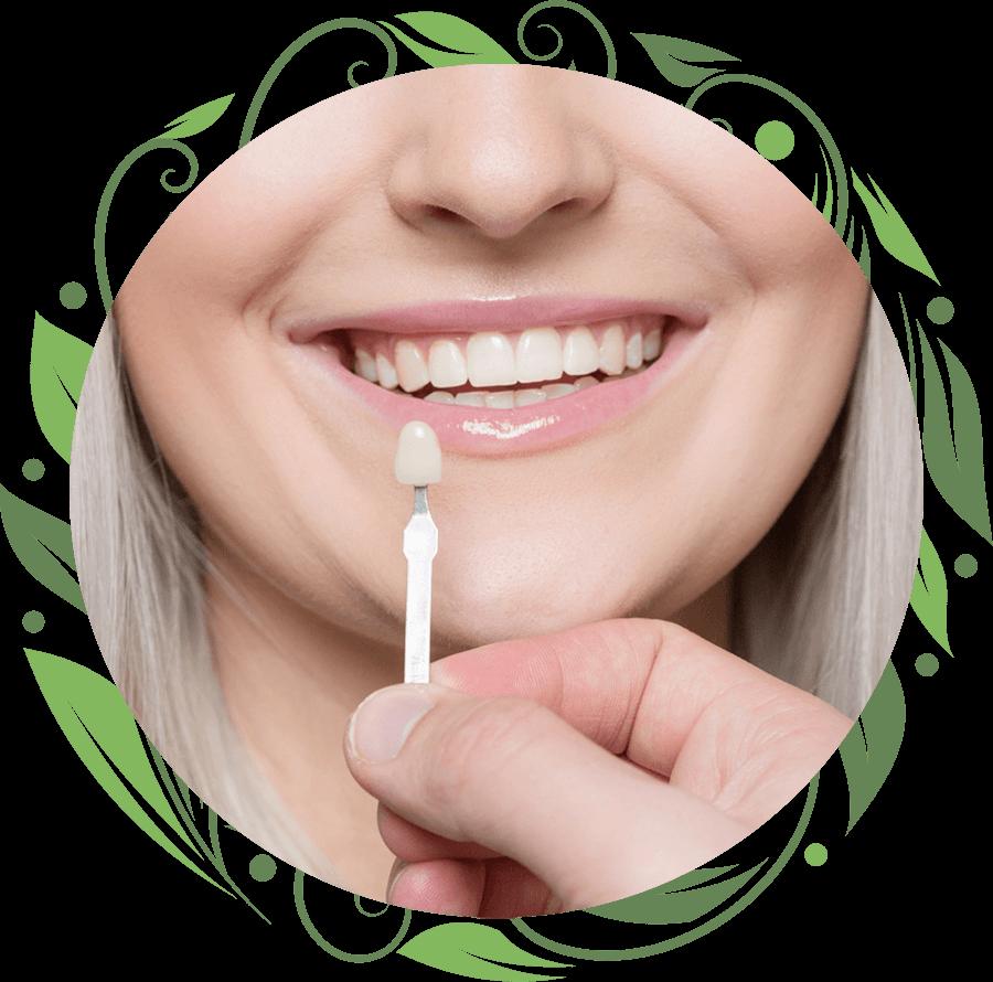 dental veneers patient smiling