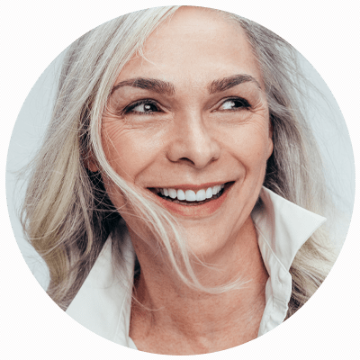 bone graft patient smiling