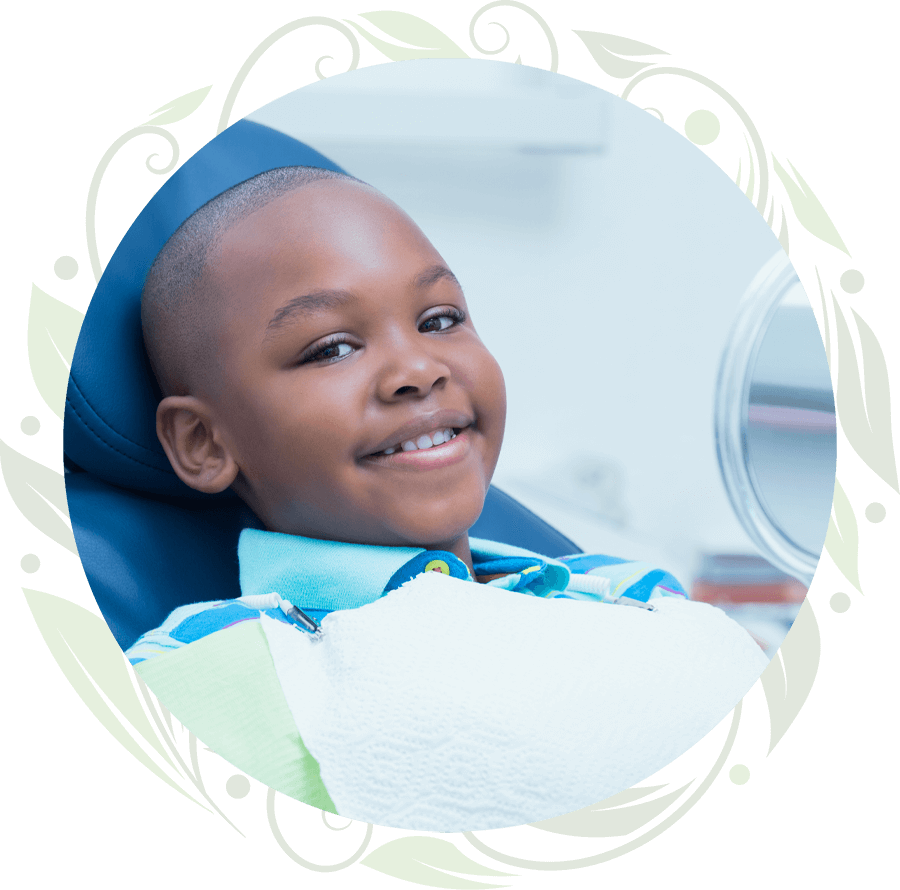 pediatric dental patient smiling